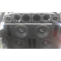 Vendo Caixa Com 4 Sub De 12 Voicer 250 Rms