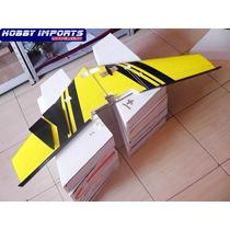 Promoção!! 2x Asa Zagi 120cm Mh-45 M. Embutir Enteladas....