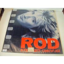 Disco De Vinil Lp Rod Stewart.camouflage Lindoooooooooooo