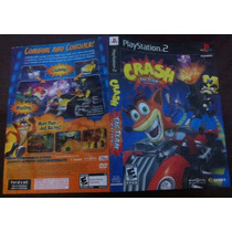 Crash Tag Team Racing - Encarte Original Playstation 2
