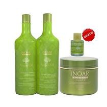 Kit Inoar Shampoo/ Condicionador E Máscara Argan Oil Gde