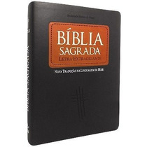 Bíblia Sagrada Letra Extra Gigante Ntlh Tamanho Grande