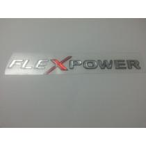 Emblema Resinado Flex Power Corsa Astra Celta Montana