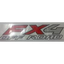 Emblema Adesivo Fx4 Off Road F250 Importada