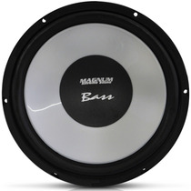 Subwoofer Magnum Bass 12 Polegada 650w Alto Falante Susp Bor