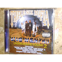 Cd Imp Triple Six Mafia - Club Memphis 2 (99) C/ Gangsta Boo