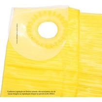 Lona Carreteiro 6x5 Mts Amarela Encerado Reforçado Multiuso