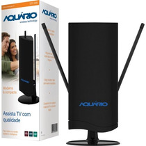 Antena Interna Tv Vhf/uhf/fm/hdtv Digital Dtv4500 #novo