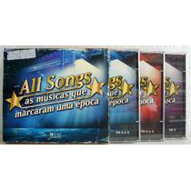 Box All Songs, As Músicas Que Marcaram Uma Época - 5 Cds