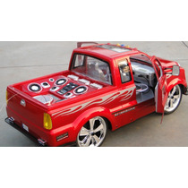 Caminhonete Pick-up C/ Entr. Mp-3 Abre Portas Recarr. R/c