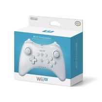 Novo Controle Nintendo Wii U Pro Controller Branco Pra Wii U