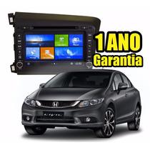 Kit Central Multimidia Civic Orig Phone Dvd Gps Tv Bt Cam Ré