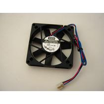 Micro Ventilador 80x80x15mm Fan Cooler 12v Rolamento 1ªlinha