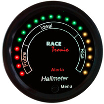 Hallmeter Digital Racetronix 52mm Programável Led Ar / Comb