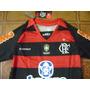 Camisa Flamengo Rubro Negra 10 Tamanho 04 Anos