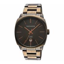 Relógio Feminino Technos 2115rl/1m Elegance Dress Bronze