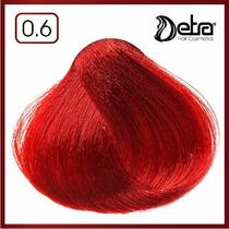 Detra Color Coloração Permanente Nº 0.6 Vermelho - 60g