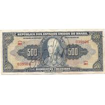 Av 940 - Cédula De 500 Cruzeiros C 044 - Mbc/sob
