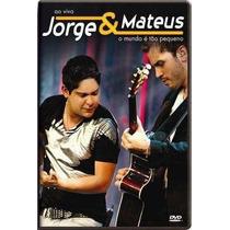 Jorge E Mateus - Ao Vivo O Mundo É Tão Pequeno - Dvd Duplo