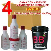 4 Kits Manutenção Hidra Lise + 1 Bb Cream Revenda - Atacado