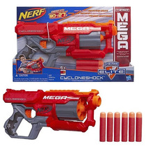 Lançador Nerf N-strike Elite Mega - Cycloneshock - Hasbro