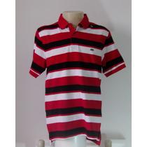 Camiseta Gola Polo Listrada Ecko Importada - Masculina