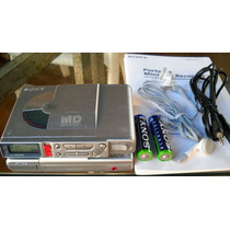 Gravador Portátil De Minidisc Sony Mz-r37 ¿ Made In Japan