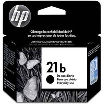 Cartucho Original Hp 21b (c9351bb) Preto Jato De Tinta 7ml
