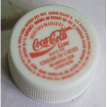 Tampinha Antiga De Coca-cola (coke) Rosquiável (plástica)