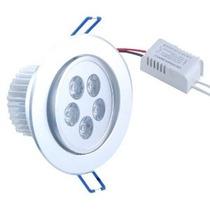 Lampada Spot Dicroica Direcionável 5w 5 Leds 6500k 500lumens