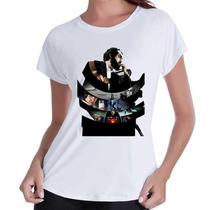 T-shirt Babylook Cinema#- Mais Barato