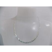 Corrente,cordão De Prata Masculina - 3x1 - 2 - 925