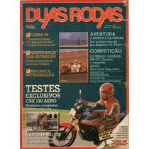 Duas Rodas N°160 Honda Cbx 150 Aero Yamaha Rd 135 Copa Rd350