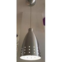 10149/1 Pendente Aluminio Escovado Garrafa Com Furos.