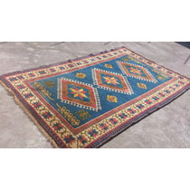 Tapete Oriental Kasak Turco - Desenho Geométrico - Oferta