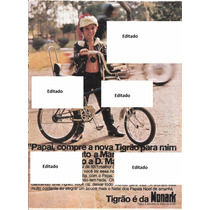 Propaganda Monark Tigrão Bicicleta Antiga Digitalizada
