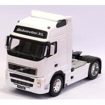 Miniatura Caminhão Volvo Fh 12 Branco