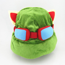 League Of Legends Lol: Chapéu De Pelúcia Do Teemo