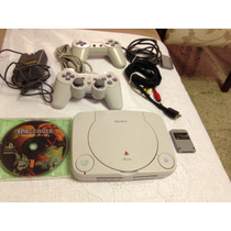 Playstation One + 2 Controles + Jogo Space Hulk Original