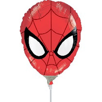 Balão Metalizado Homem Aranha 12p 32cm Centro De Mesa