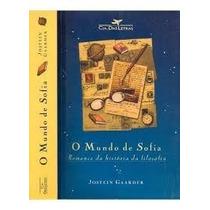 Livro O Mundo De Sofia=jostein Gaarder=história Da Filosofia