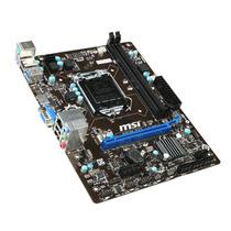 Placa Mae Msi H81m-e33 Lga1150 Intel H81 Usb3.0 Sata6gb/s