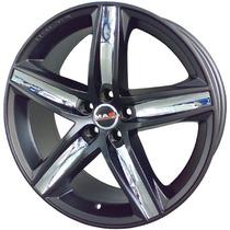 Jogo Rodas Tsw Variante 17x7 Dark Gloss + Garantia E Nf