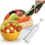 Descascador Furador Boleador Frutas Legumes Plástico Keita