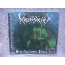 Monstrosity - Live Extreme Brazilian Tour 2002 - Cd Nacional