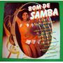 Lp Bom De Samba 1983,raro,