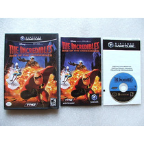 Game Cube: Disney The Incredibles Rise Of Underminer! Jogão!