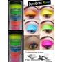 Kit Sombra Cremosa Com 5 Cores Neon Maquiagem Fluorescente