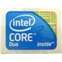 Adesivo Original Intel Core 2 Duo P/ Desktop