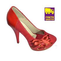 Scarpin Feminino Up Shoes Salto Alto! Muito Confortável!